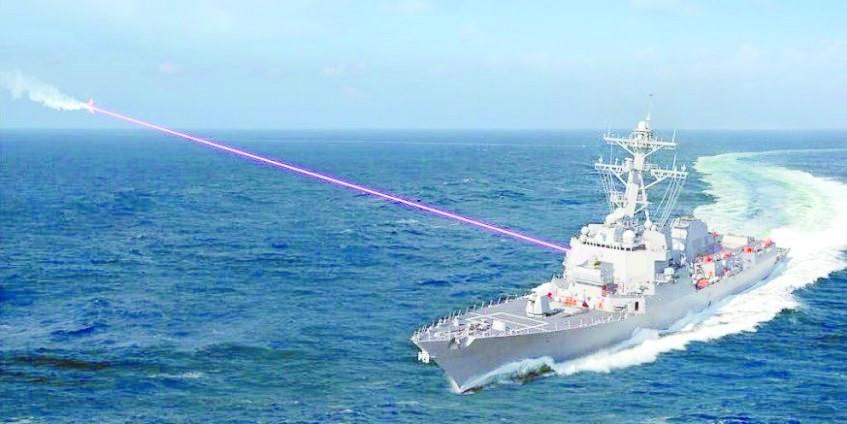 美海军优先在亚太部署激光武器 欲拦截中俄导弹