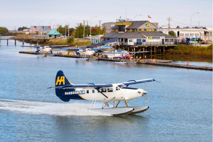 Harbour Air时时彩送38彩金平台成为全球首家全电动航空公司