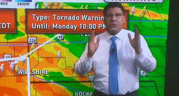 """美天气预报员怒怼挑事观众:""""受够你们了!"""""""