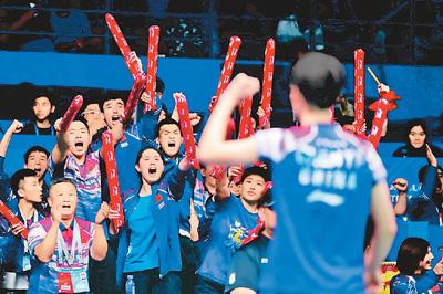 苏迪曼杯国羽大胜日本夺冠 笑傲前哨战奥运有信心