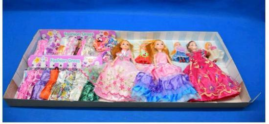 网售芭比娃娃增塑剂超标140倍 或致儿童性早熟