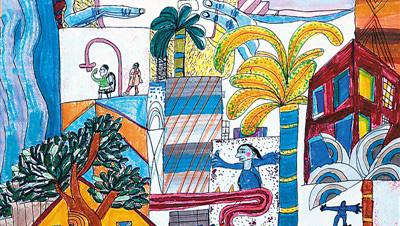 中国儿童画七十年硕果累累:画眼前所见 抒天真灵感