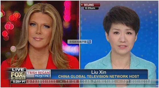 """中美女主播""""辩论?#20445;?#22806;国网友点赞刘欣:很棒!"""