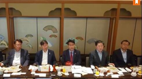 日韩关系紧张,韩国最大在野党成员访日磋商改善关系