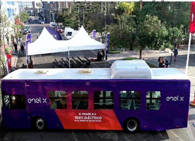 比亚迪K9C纯电动大巴在智利投入试运行