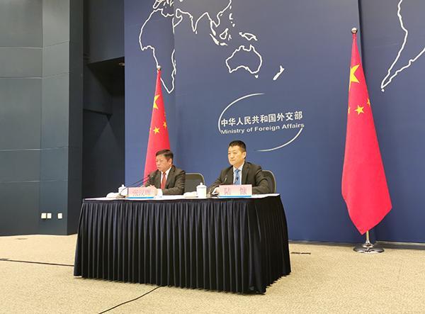 外交部:习近平访俄期间,中俄元首将签署两份重要联合声明