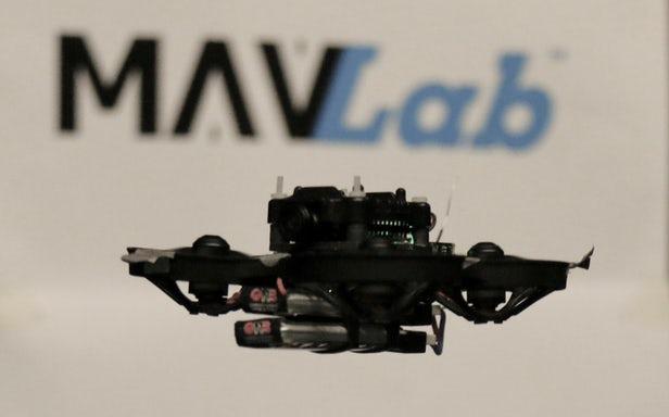 荷兰科学家创造出世界上最小的自主飞行竞速无人机