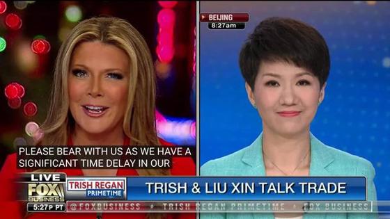 """美国人:中美主播第2轮""""辩论""""来场中文的吧"""