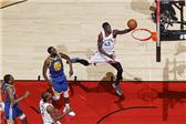 NBA总决赛:勇士109-118猛龙G1