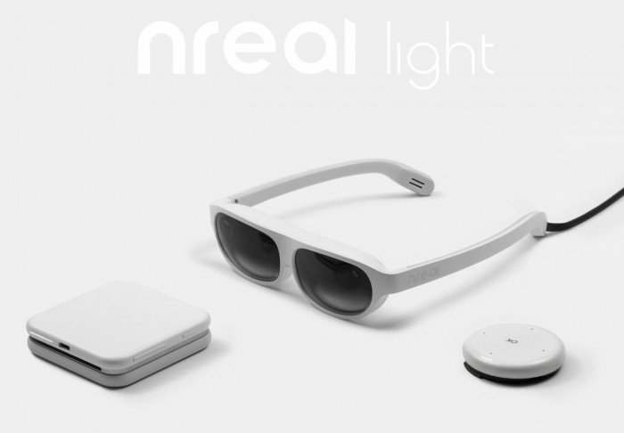 nreal light眼镜将把混合现实技术带向大众市场