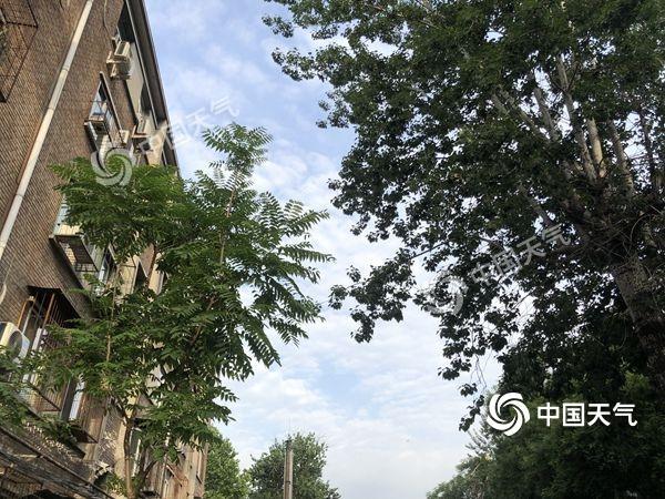 北京午后有雷阵雨侵扰