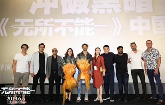 """《无所不能》首映 """"印度第一帅""""中文感谢观众"""