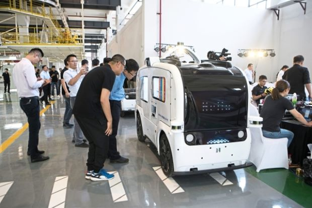 机器人送货在中国渐成现实 驱动自动驾驶技术发展