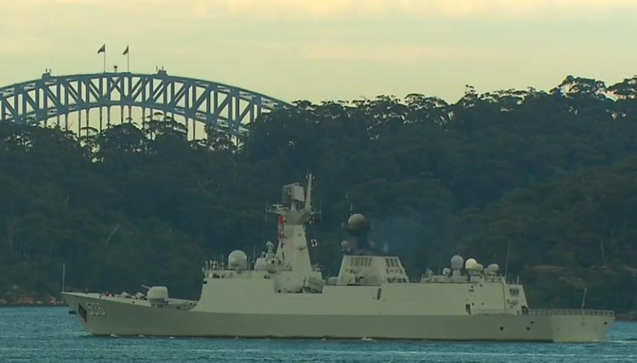 """三艘中国军舰""""突然访问""""悉尼港,澳总理:是回访_德国新闻_德国中文网"""