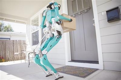 """机器""""快递员"""" 用自动驾驶货车送货上门"""