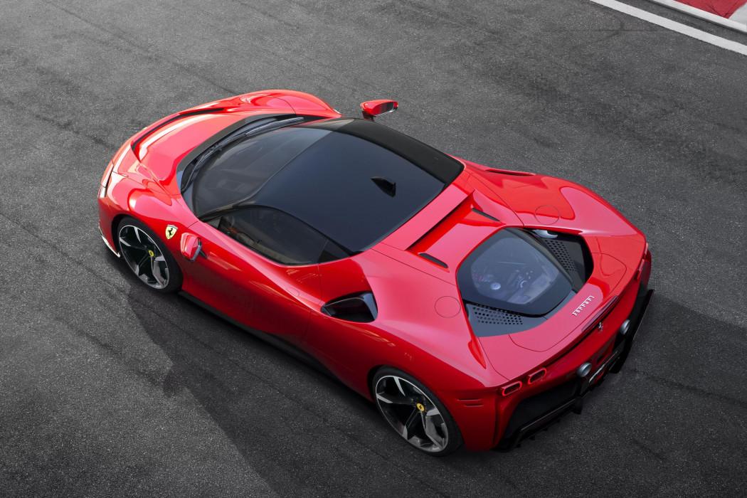 法拉利發布首款插電式混合動力車型SF90 Stradale,售價尚未公布