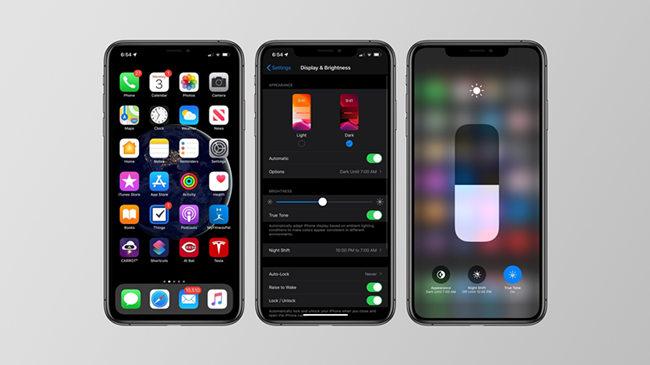 iOS 13黑暗模式功能细节与图集欣赏