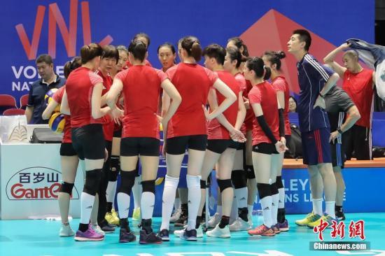 世界女排联赛香港站中国女排遇三强 郎平:很重视这三场比赛