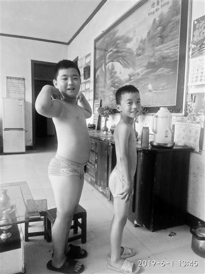 为给父亲做骨髓移植11岁男孩增肥20斤