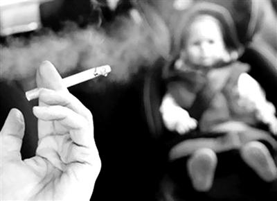 """小心""""三手烟""""或致儿童认知缺陷"""