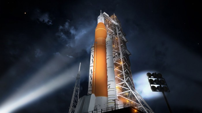 NASA月球火箭太空发射系统的核心级已接近完成