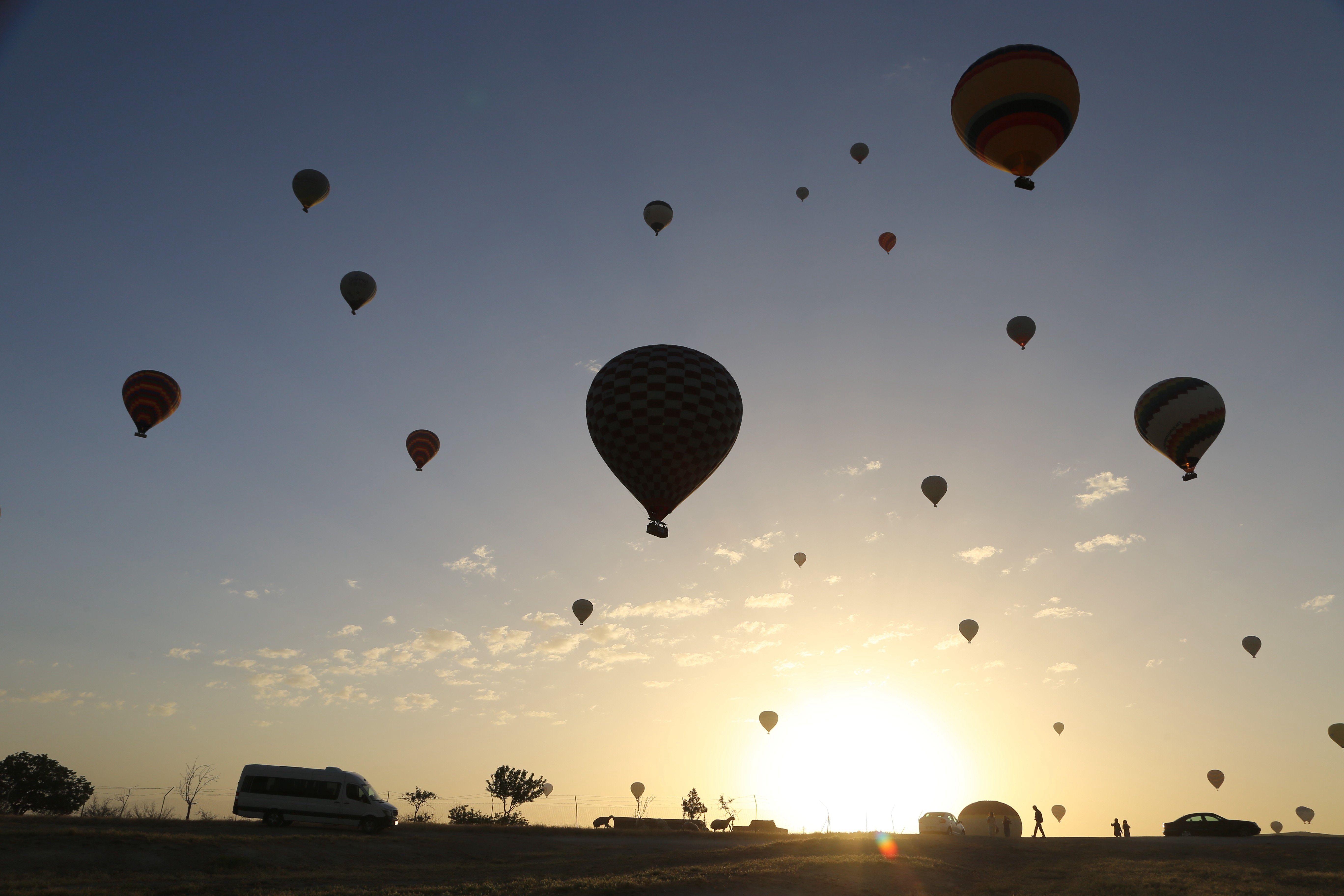 极尽浪漫!实拍土耳其卡帕多西亚热气球美景