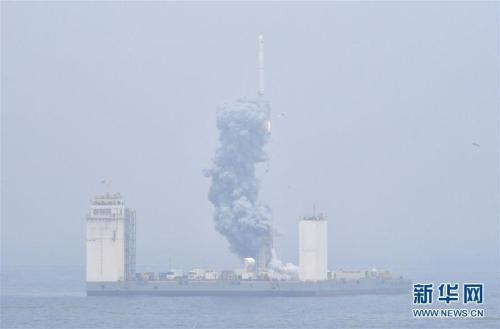 中国成功发射捕风一号A/B卫星