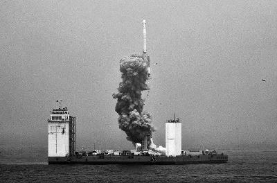 新技能!中国首次海上发卫星