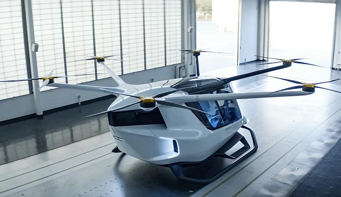 世界首个氢动力空中出租车亮相 可飞行3小时以上