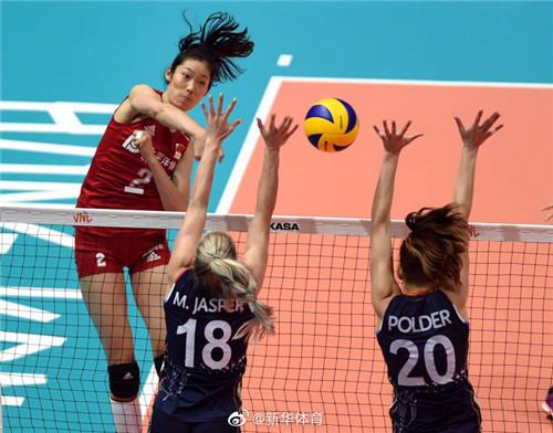 世界女排联赛香港站:中国队胜荷兰队获两连胜