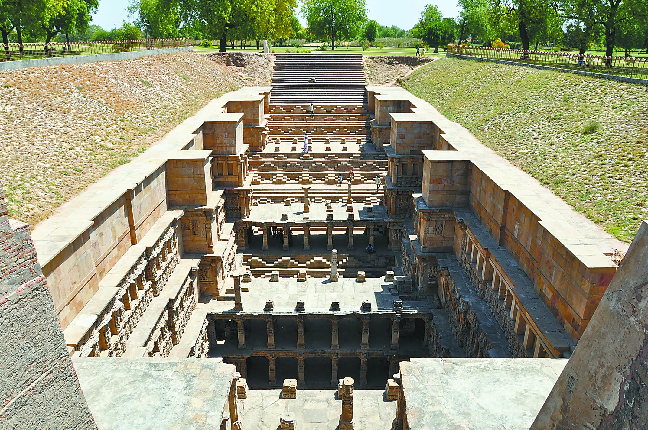 印度台阶井,文化聚宝盆