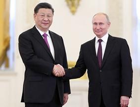 习近平同俄罗斯总统普京举办会谈