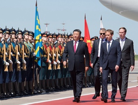 习近平开始对俄罗斯联邦进行国事访问