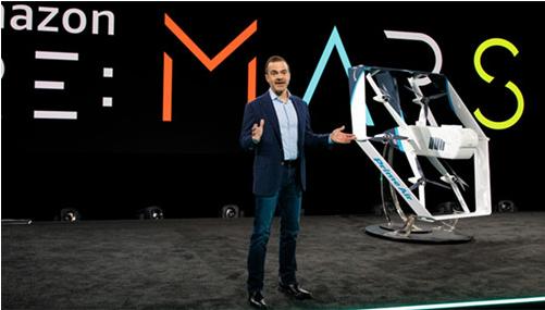 亚马逊发布新版快递无人机 有望在未来几个月推出送货服务