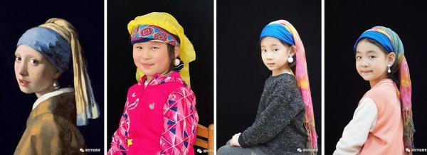 萌出天际!上海幼儿园小朋友cosplay名画,来看有多像