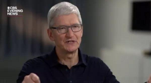 看苹果老板这段关于中国的采访,美国政府应该知耻