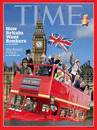 《时代》周刊公布最新国际版封面:英国是如何变疯狂的_德国新闻_德国中文网