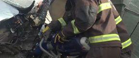 新城消防成功救出被困者