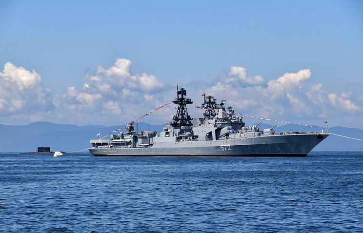 惊险!俄太平洋舰队指责美舰险在东海酿成撞船事故_德国新闻_德国中文网