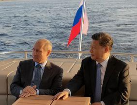 习近平同俄罗斯总统普京在圣彼得堡再次举办会晤