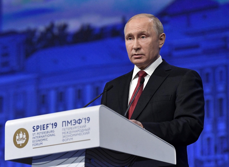 普京:在某些圈子里,美国打压华为被称作数字时代首场科技战争_中欧新闻_欧洲中文网