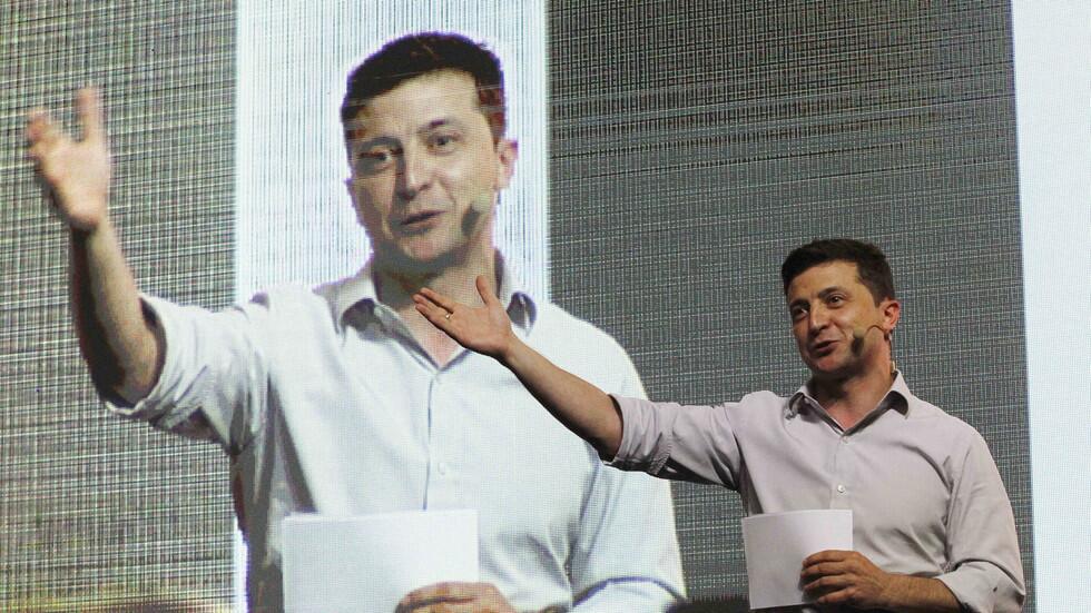 """普京谈乌克兰新总统:他是一位""""政治新手"""",一个""""好演员""""_中欧新闻_欧洲中文网"""
