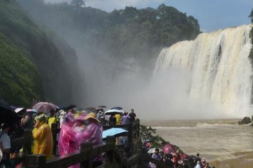 贵州黄果树大瀑布进入丰水期