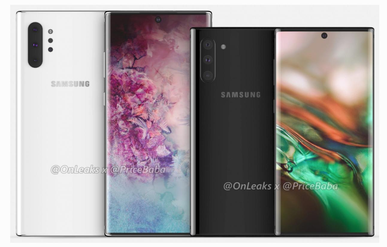 传三星将推出四摄像头Galaxy Note 10 Pro