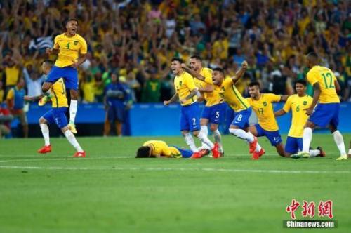美洲杯热身赛:巴西7:0洪都拉斯 内马尔缺席
