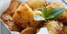 焦焦脆脆的蒜香小土豆
