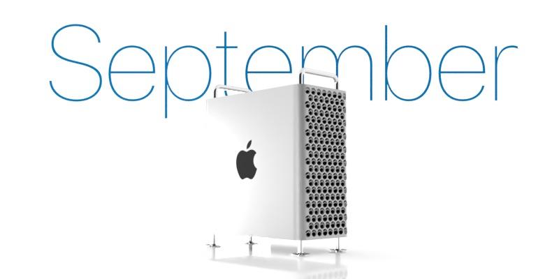 苹果官方页面显示全新 Mac Pro今年9月发售