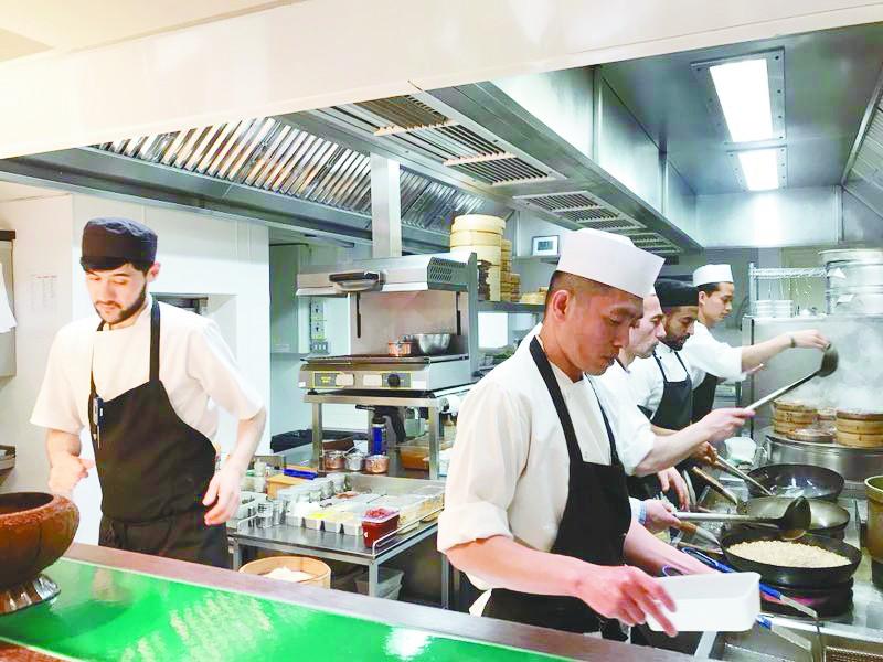 伦敦中餐馆,木须肉当烤鸭吃