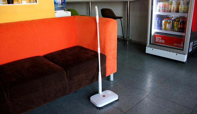 宜洁手持无线扫地机体验:无线+长续航 清扫更方便