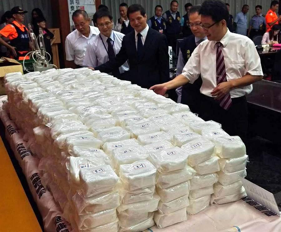 台湾传毒品走私案 海上缉毒30小时查缉员吐翻
